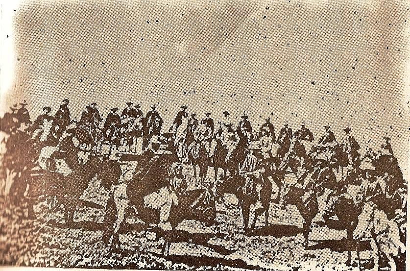 Coronel Becerra y sus gerrilleros
