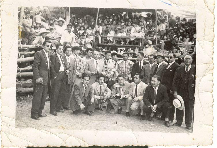 Corrida de toros año 1962