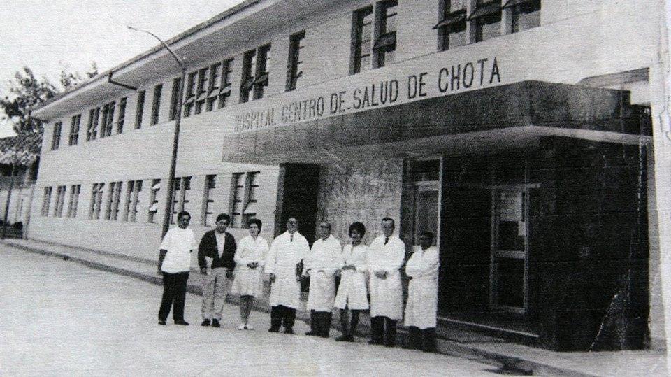 Hospital José Soto cadenillas año1969