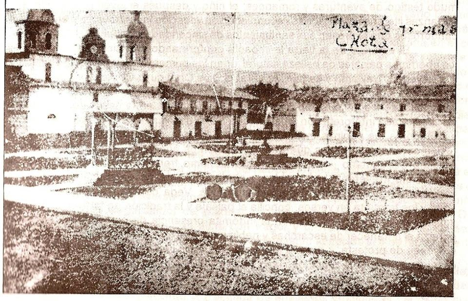 Plaza de armas 1930