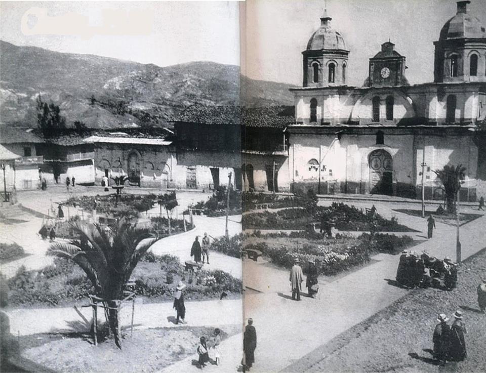 Plaza de armas 1950