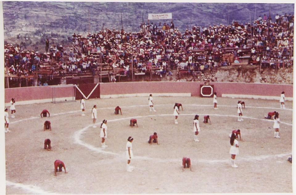 Comienzo de la corrida en la Plaza de Toros el Vizcaino
