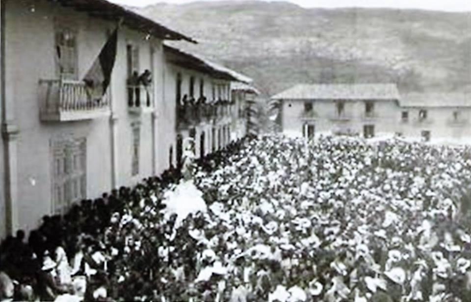 procesión de la imagen Nuestra Sra de la Asunción