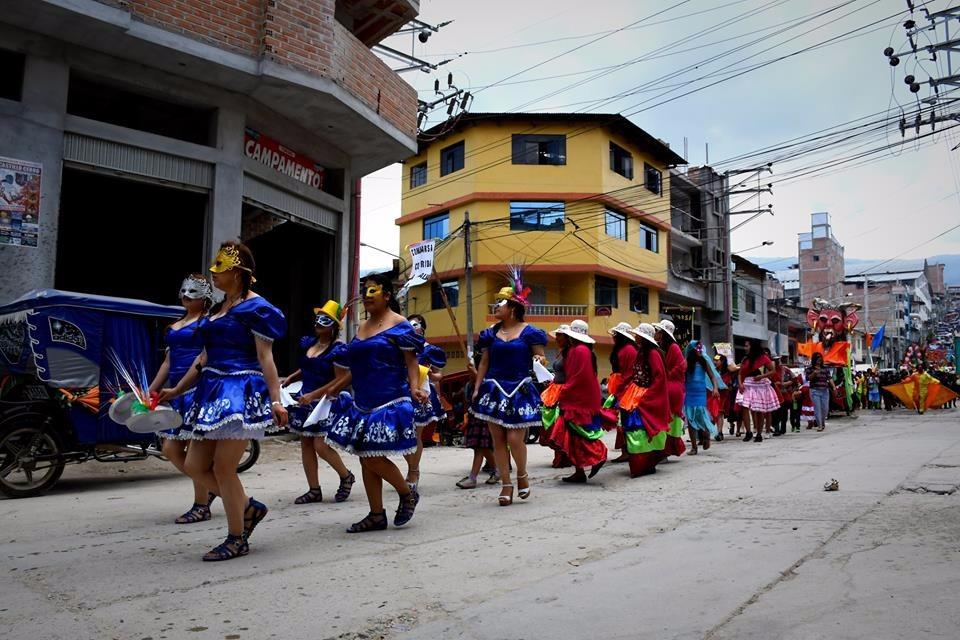 Carnavales en Chota Cajamarca 2018