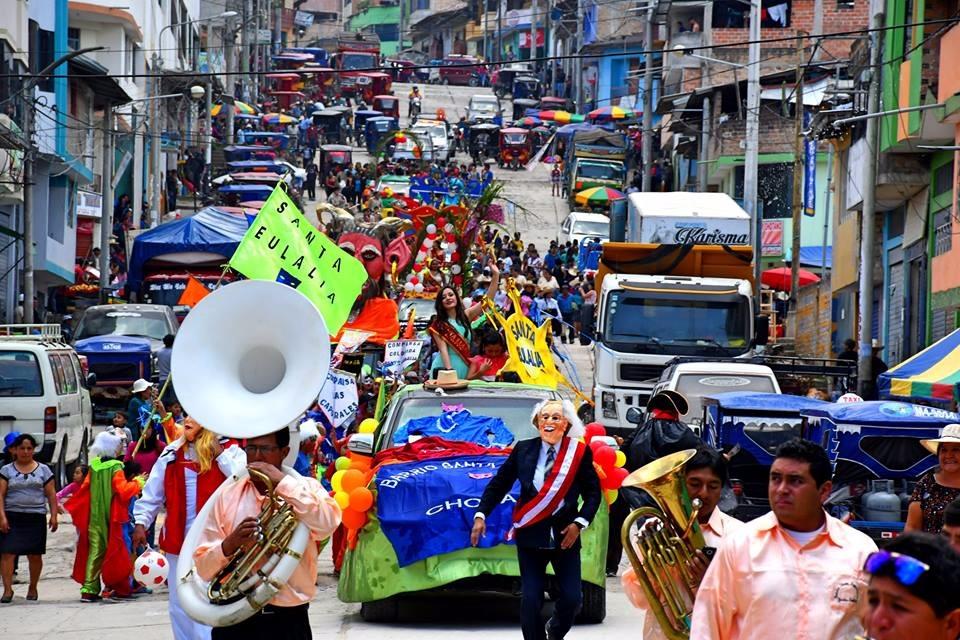 Carnavales en Chota Cajamarca 2018_09