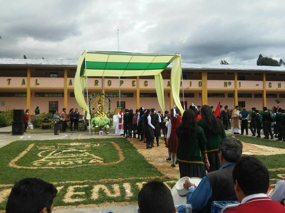 Entrada Triunfal de la Imagen del Patrón San Juan Bautista