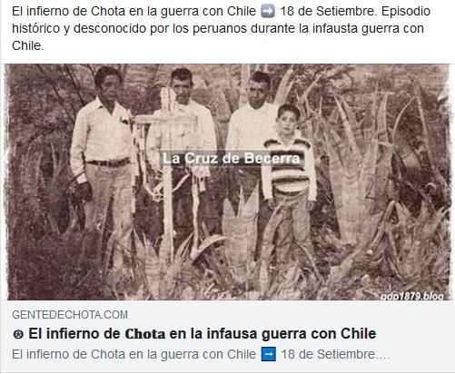El infierno de 𝐂𝐡𝐨𝐭𝐚 en la infausa guerra con Chile