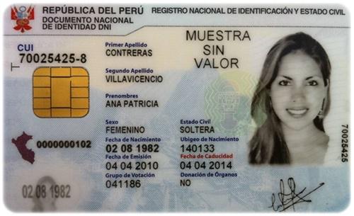 Tramitar duplicado de DNI por Internet en Perú