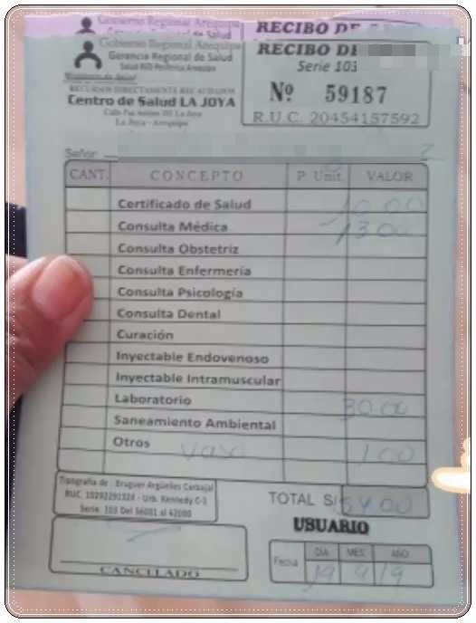 Requisitos para sacar el carnet de Sanidad