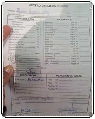 Tramites y requisitos para carnet de sanidad en Perú