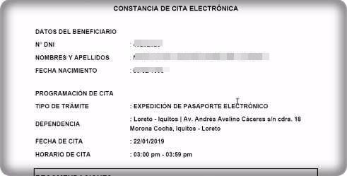 Como tramitar o sacar pasaporte electrónico o biométrico