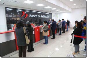 Cronograma de pagos Banco de la Nación