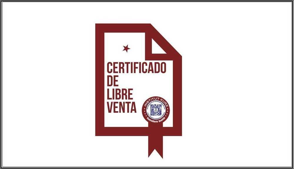 Certificado de libre venta (CLV) ¿Cómo obtener?