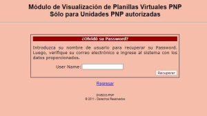 Cómo completar e imprimir planilla PNP en Perú paso a paso