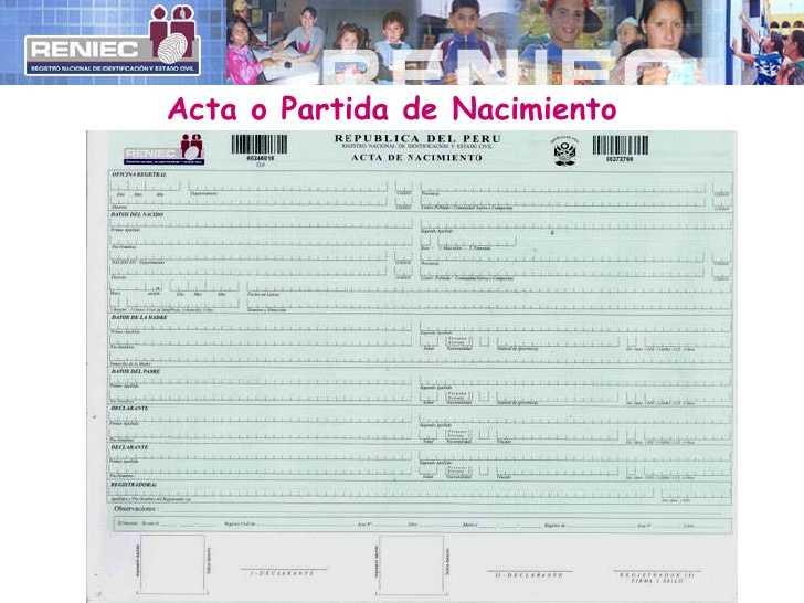 Cómo sacar certificado de nacimiento, matrimonio o defunción