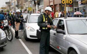 multas de tránsito pendientes